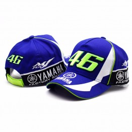 High Quality MOTO GP 46 Motorcycle 3D Embroidered F1 Racing Cap