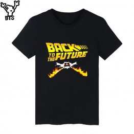 Back to the Future Classic Movie Series Cotton T-shirt Men