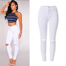 Ripped ladies Skinny jeans