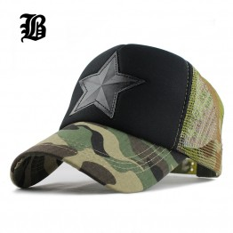 Camouflage mesh baseball cap swag Hat