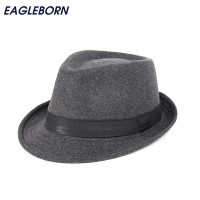 Wide Brim men Fedora Hats Jazz Caps