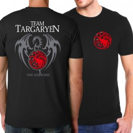 Game of Thrones Fire & Blood T Shirt For Men