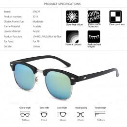 Brand Designer Glasses Mirror Sun Glasses