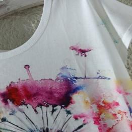 Cute T Shirt  Cat Print