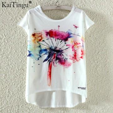 Cute T Shirt  Cat Print32789895272
