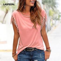 Tassel T-Shirt Women