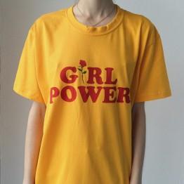 Girl Power Rose T Shirt