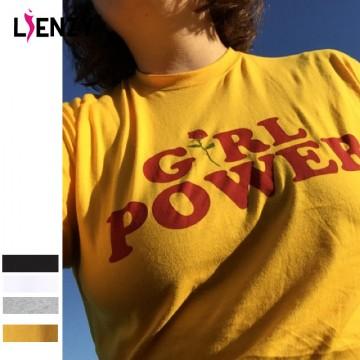 Girl Power Rose T Shirt32793487773