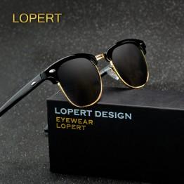 Retro Rivet Polarized Sunglasses