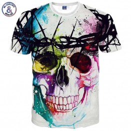 3d Print Skulls  Animation 3d T shirt