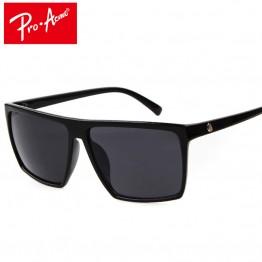 Square Sunglasses Men Brand Designer Mirror Photochromic Oversized Sunglasses