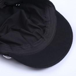Casual streetwear rope flat cap