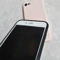 Pink Logo High Quality Soft Silicon Phone Case