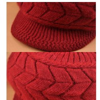 Winter Beanies Knit Wool Warm Hat