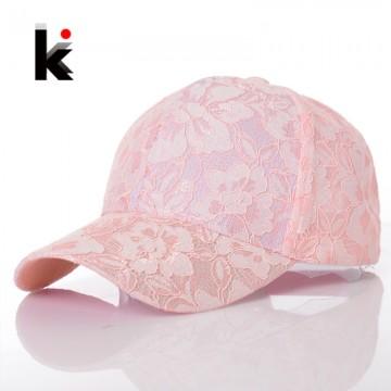 Women s Baseball Caps Lace Breathable Mesh Hat32680203658